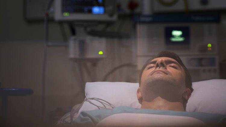 coma, hôpital