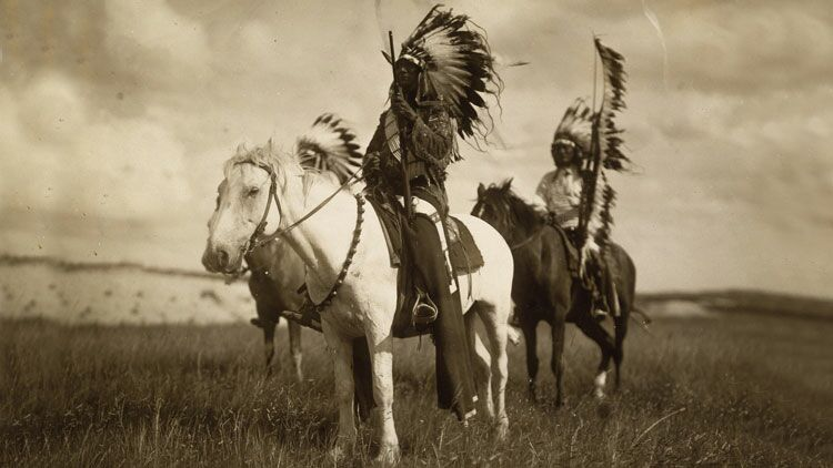indiens, sioux