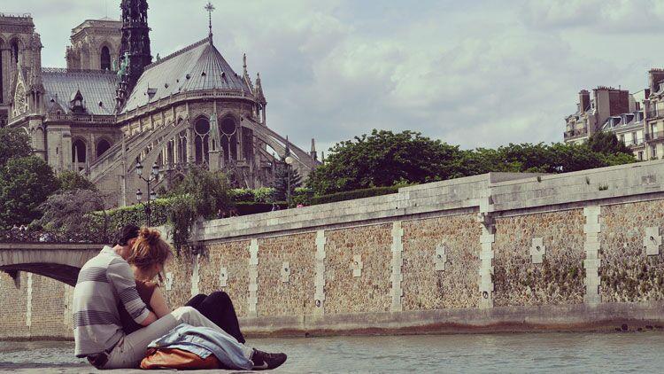 romantisme, Paris, couple