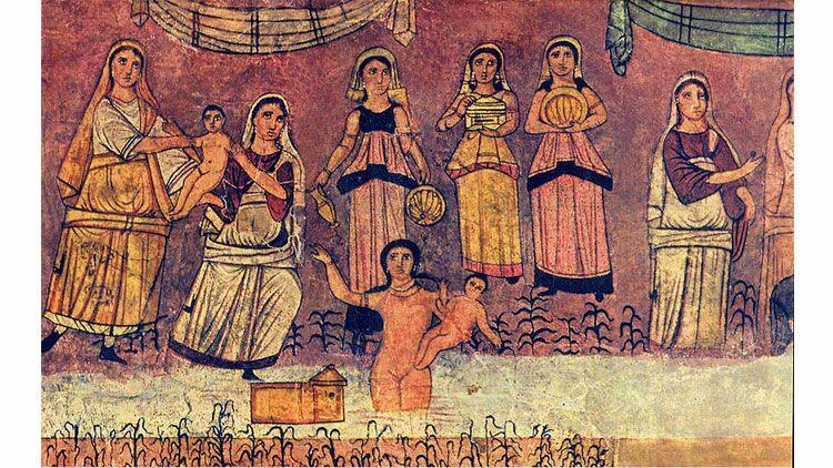 Moïse, religion
