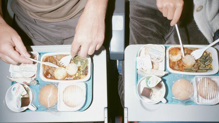 repas, avion