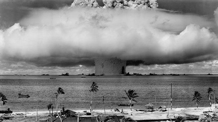 bombe atomique, champignon