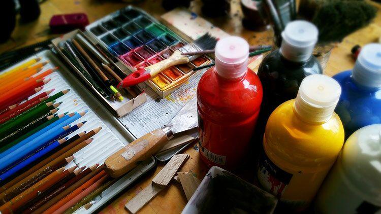Parkinson, art, peinture, couleurs