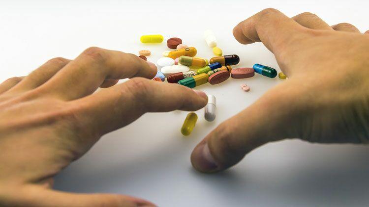 se sevrer, médicaments