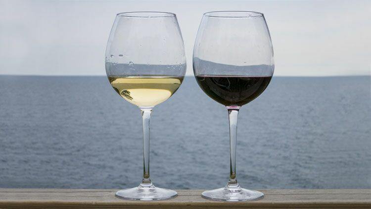 vin blanc, vin rosé