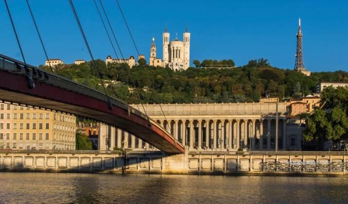Lancement de la fête des Lumières à Lyon
