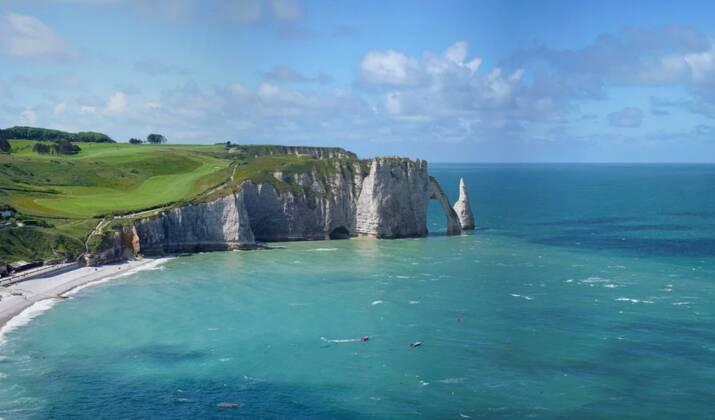 Normandie : la légende des deux amants