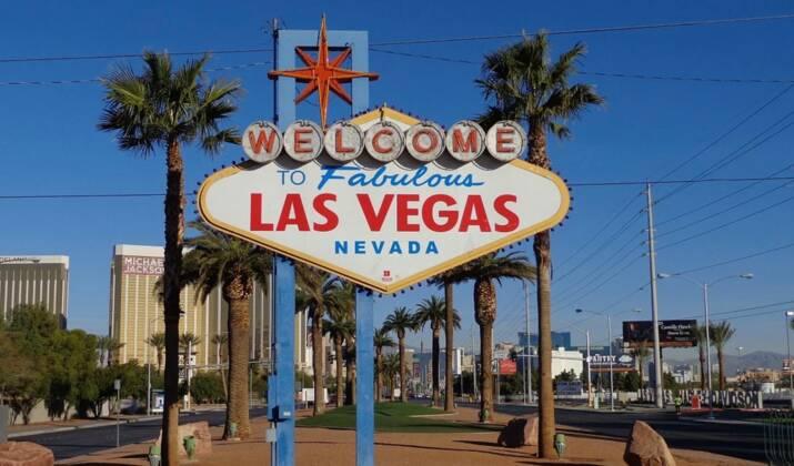 Las Vegas dans le rétro