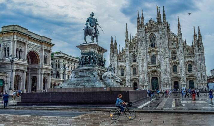 Milan, capitale de l'élégance pour les... chiens
