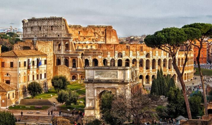 Sous un immeuble de Rome, des mosaïques romaines vont être visibles par le public