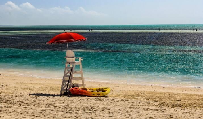 Une île paradisiaque des Bahamas mise en vente aux enchères