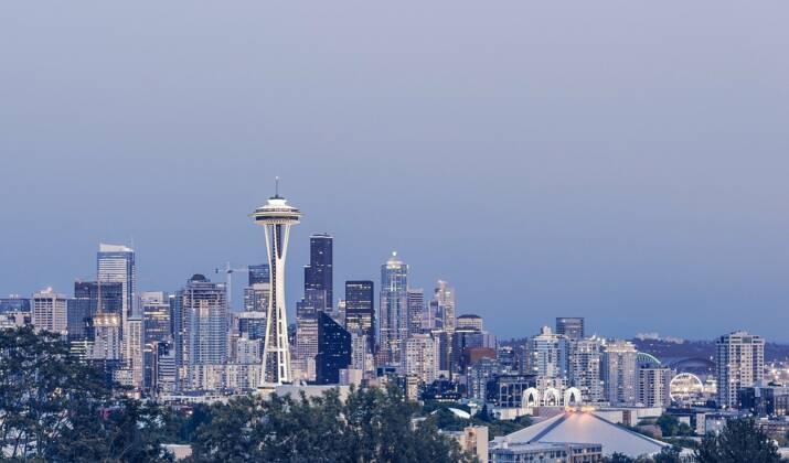 """USA: Amazon ouvre des """"biosphères"""" à Seattle"""