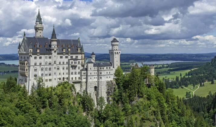 """En Allemagne, l'ancien """"rideau de fer"""" devenu éden vert"""
