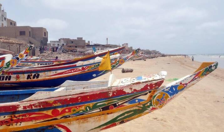 Au coeur de la Médina de Dakar, les façades se changent en musée à ciel ouvert