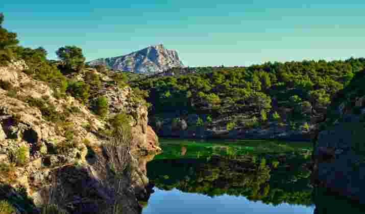 Le patrimoine sauvegardé du parc naturel des Alpilles