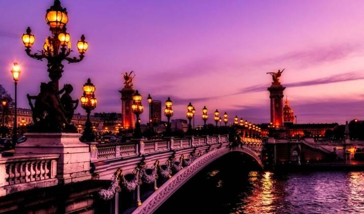 60 ans du Traité de Rome: illuminations au Quai d'Orsay