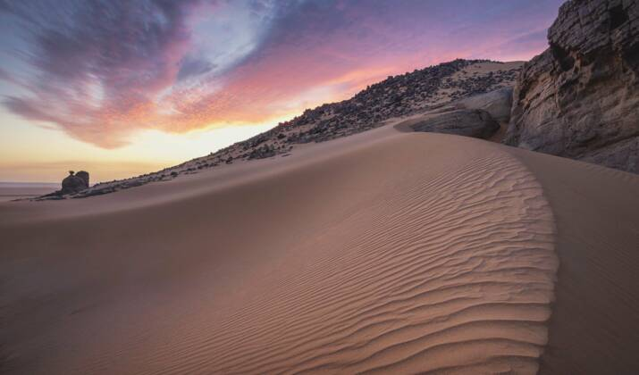 """Yasmina Khadra : """"On n'est jamais seul dans le désert du Sahara"""""""