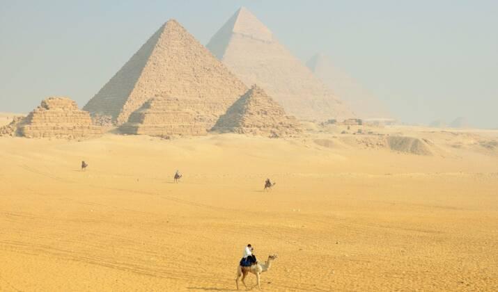 En Egypte, avec les forçats du calcaire