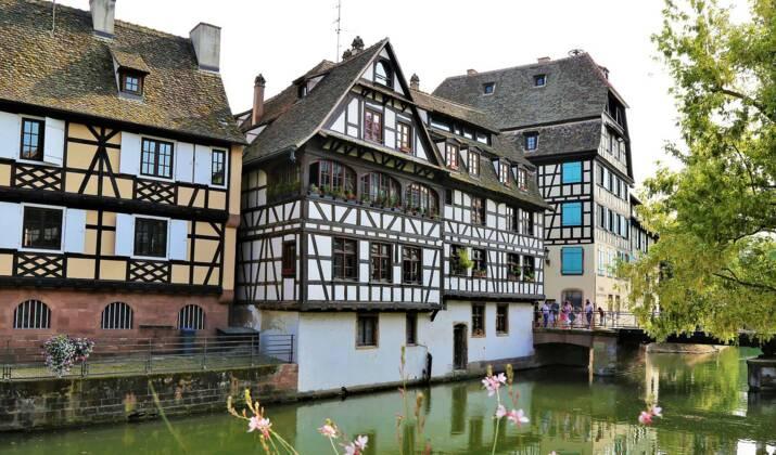 Strasbourg: un marché flottant à la rencontre des habitants