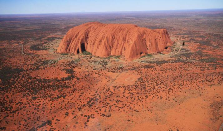 """""""Longitude, Latitude, Solitude"""", une exposition sur l'Australie vue du ciel"""