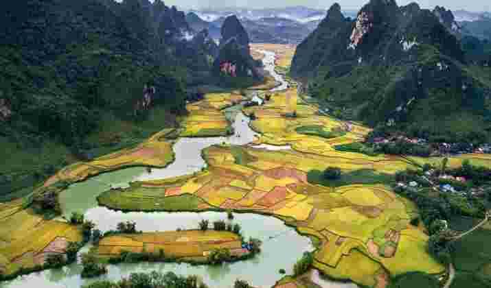 VIDÉO – Naissance d'un pont spectaculaire au Vietnam