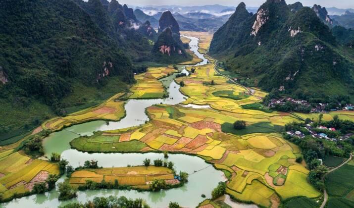 """Au Vietnam, les """"villages de l'encens"""" s'animent à l'approche des fêtes du Têt"""