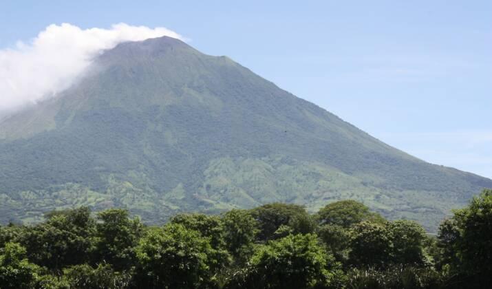 Au Salvador, les Mayas ont construit une pyramide avec les roches d'une éruption volcanique