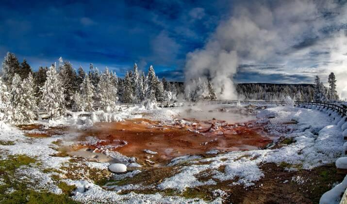 Vidéo : Yellowstone au clair de lune