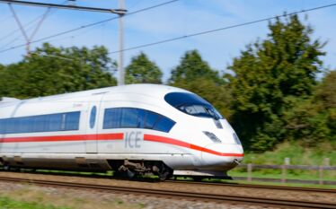 tgv ice Deutsche Bahn train allemagne