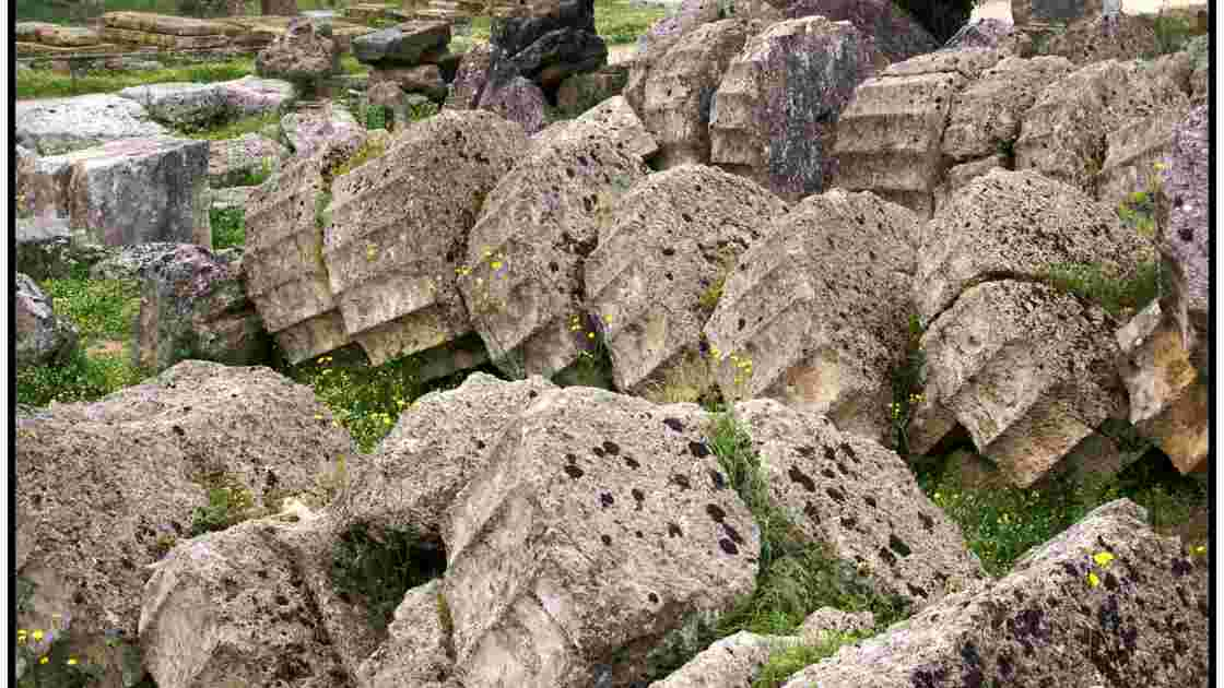 Ολυμπία (Olympie) - Le temple de Zeus, - Geo.fr