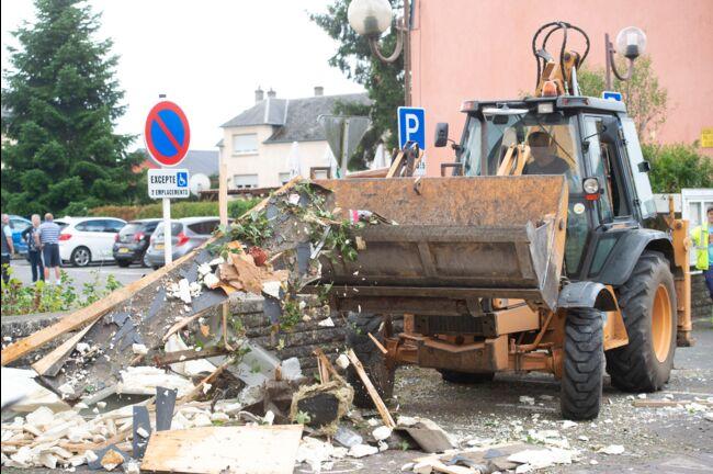 Impressionnante tornade au Luxembourg: sept personnes blessées (vidéos)