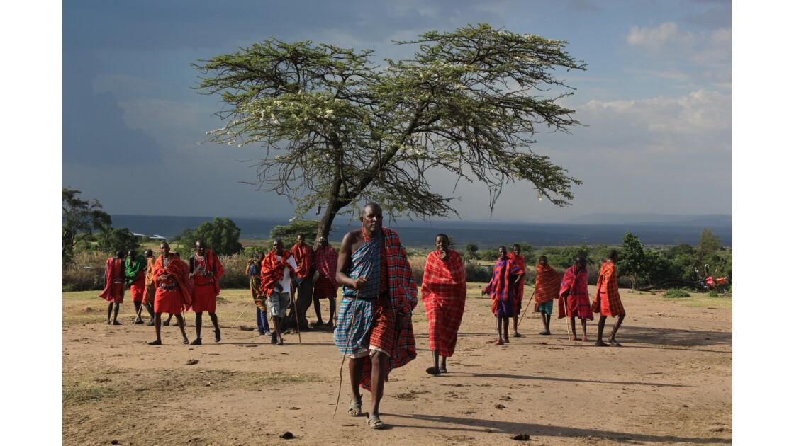 A la rencontre des Masai