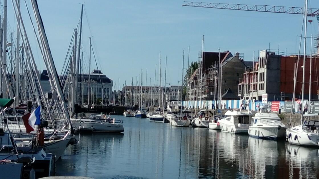 Le port de Deauville