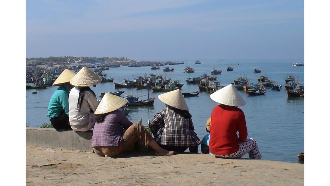 Pittoresque port de Mui Ne