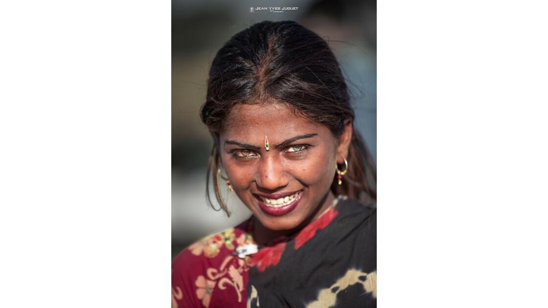 Gypsy à la Foire aux Chameaux de Pushkar (Rajasthan -Inde)