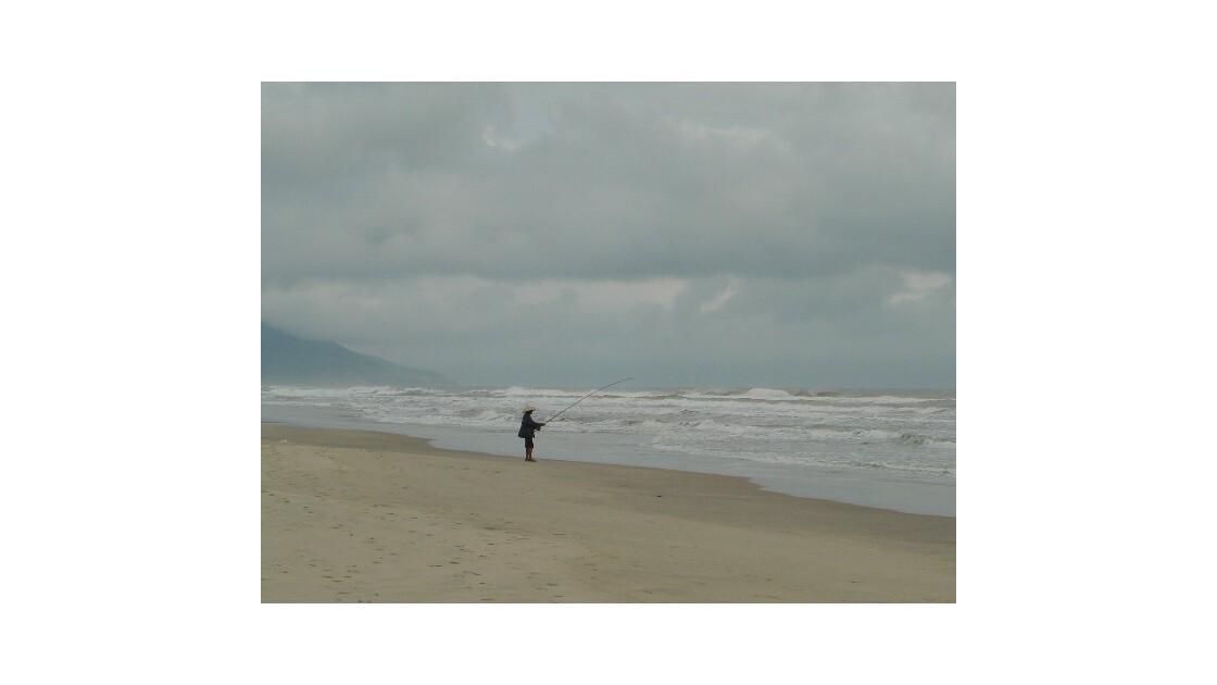 Un pêcheur à HoïAnn