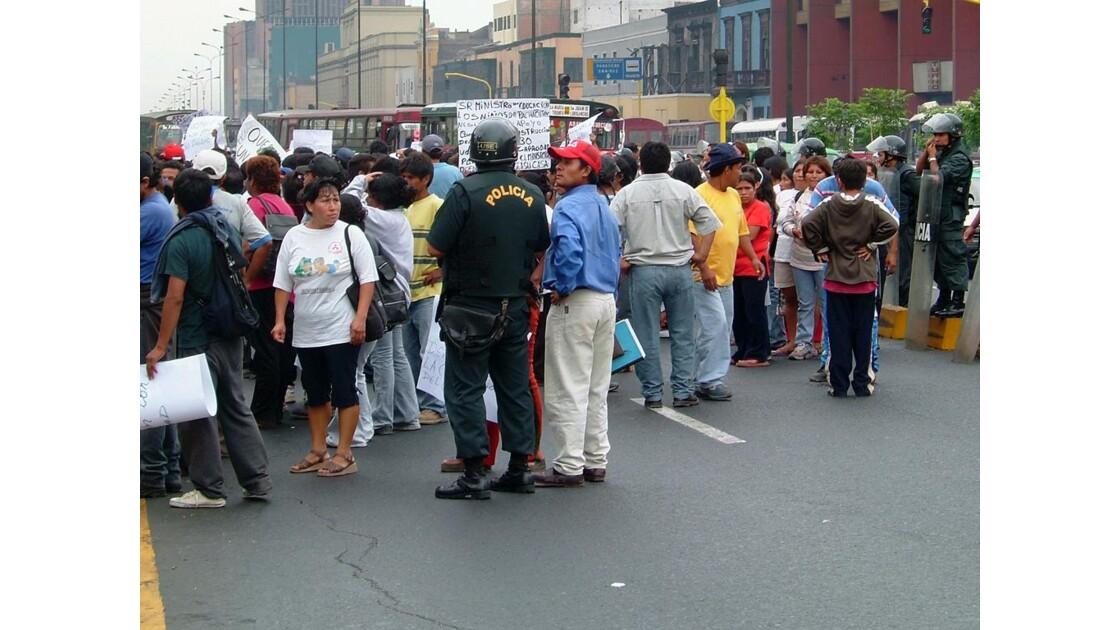 Lima - Manifestation