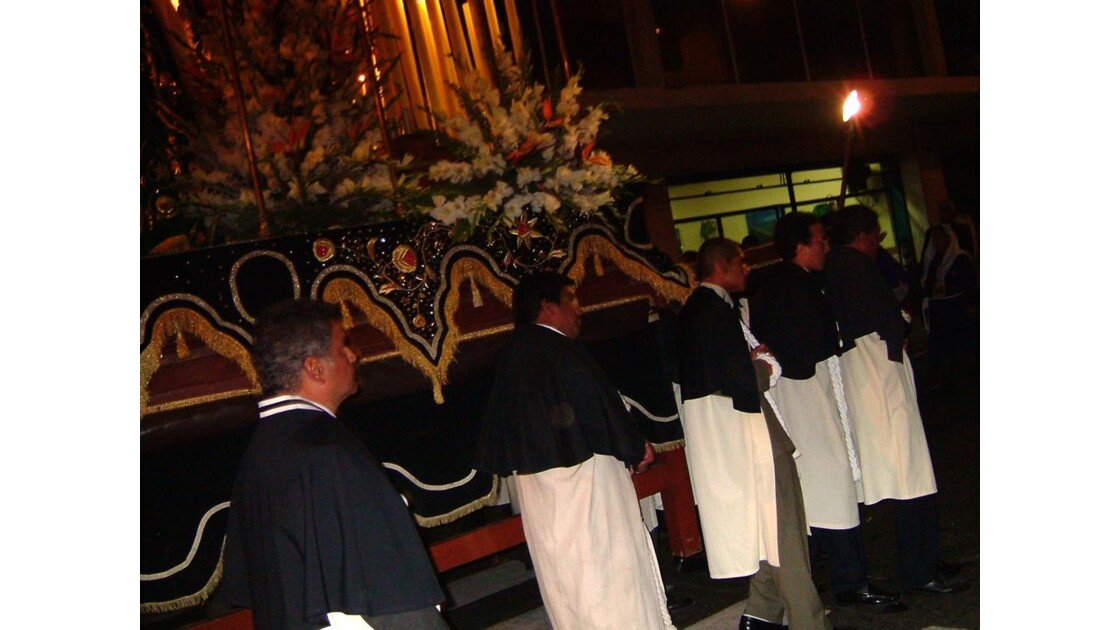 Lima - Défilé de la Semana Santa