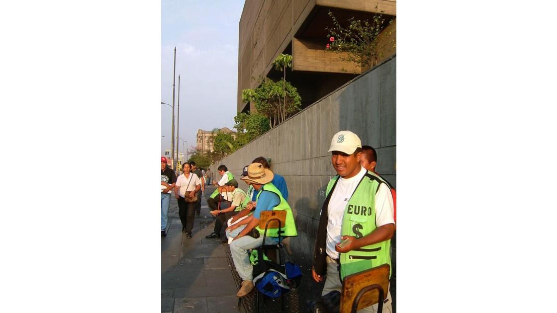 Lima - Bureau de change