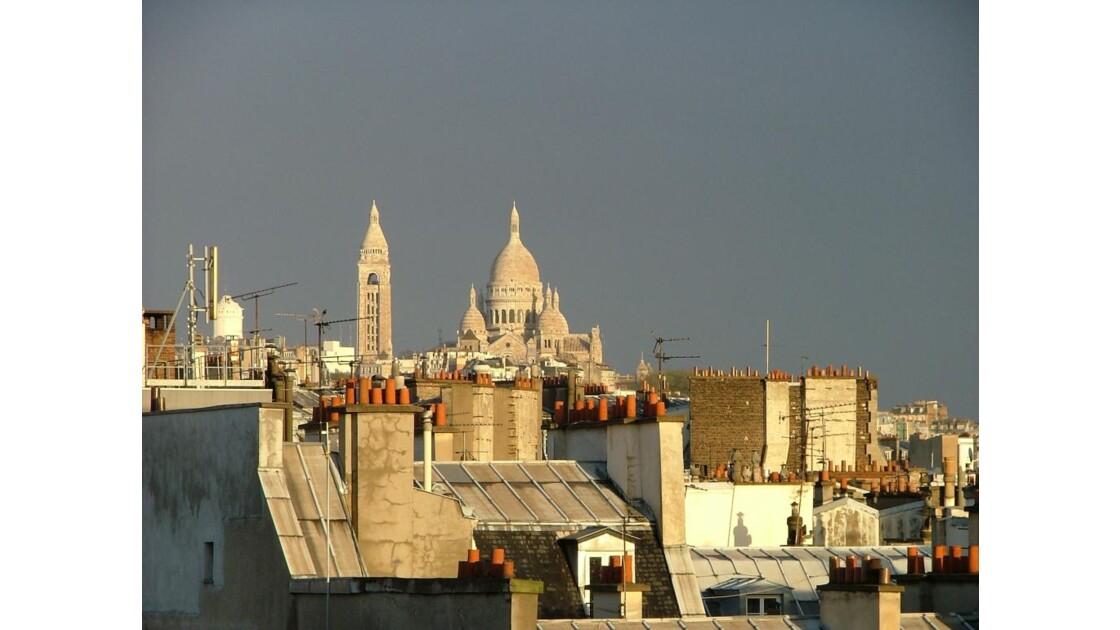 Montmartre pardessus les toits