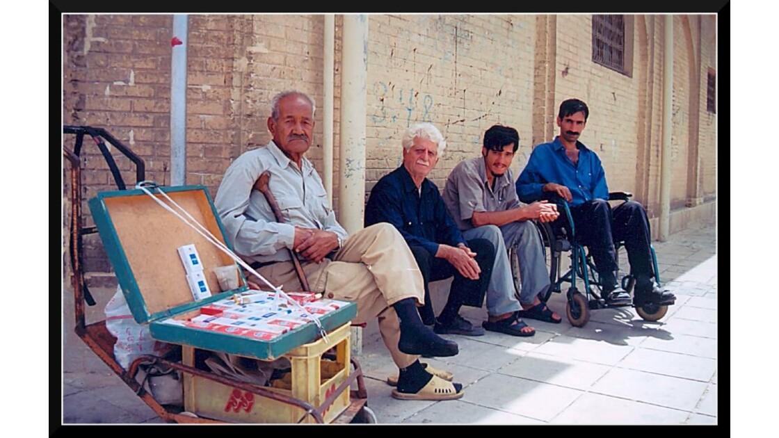 Vendeur ambulant à Shiraz