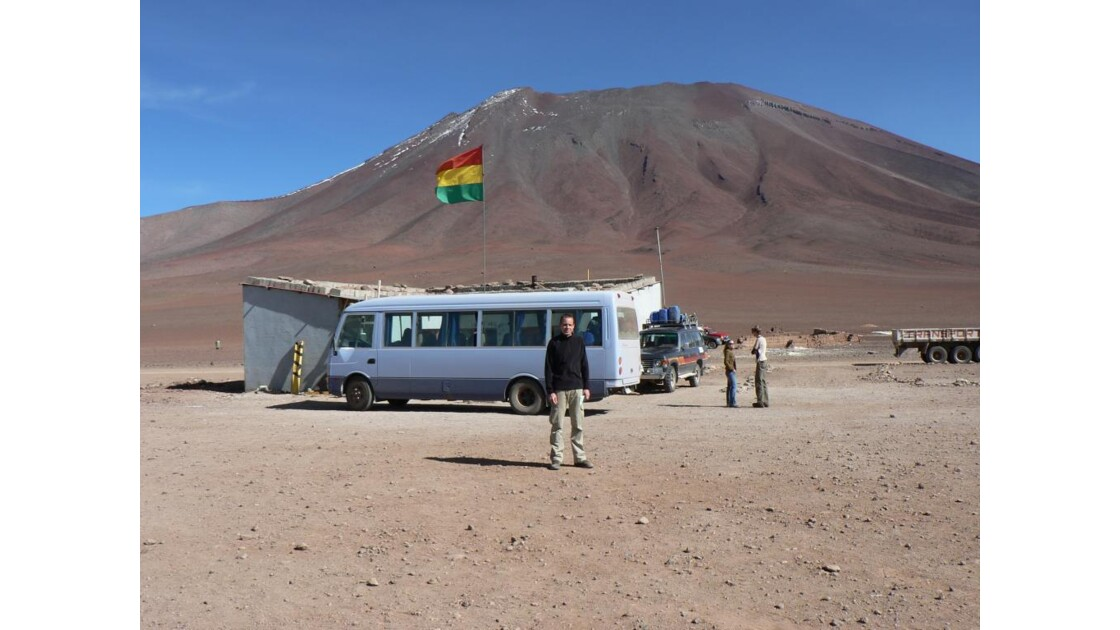 Frontière Bolivie-Chili
