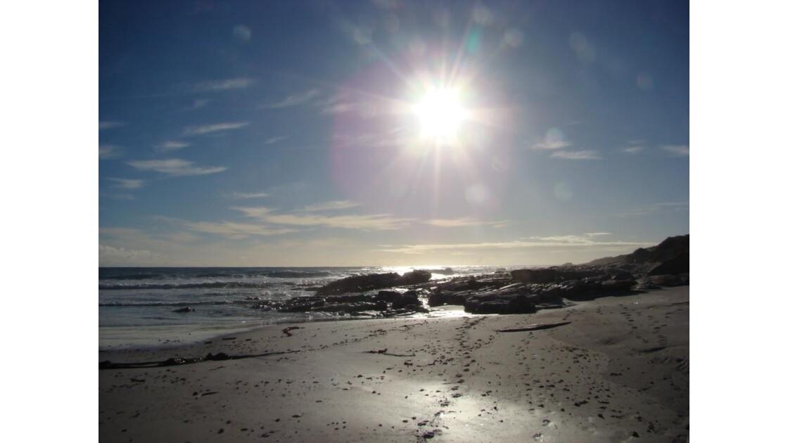 Soleil sur l'Atlantique Sud