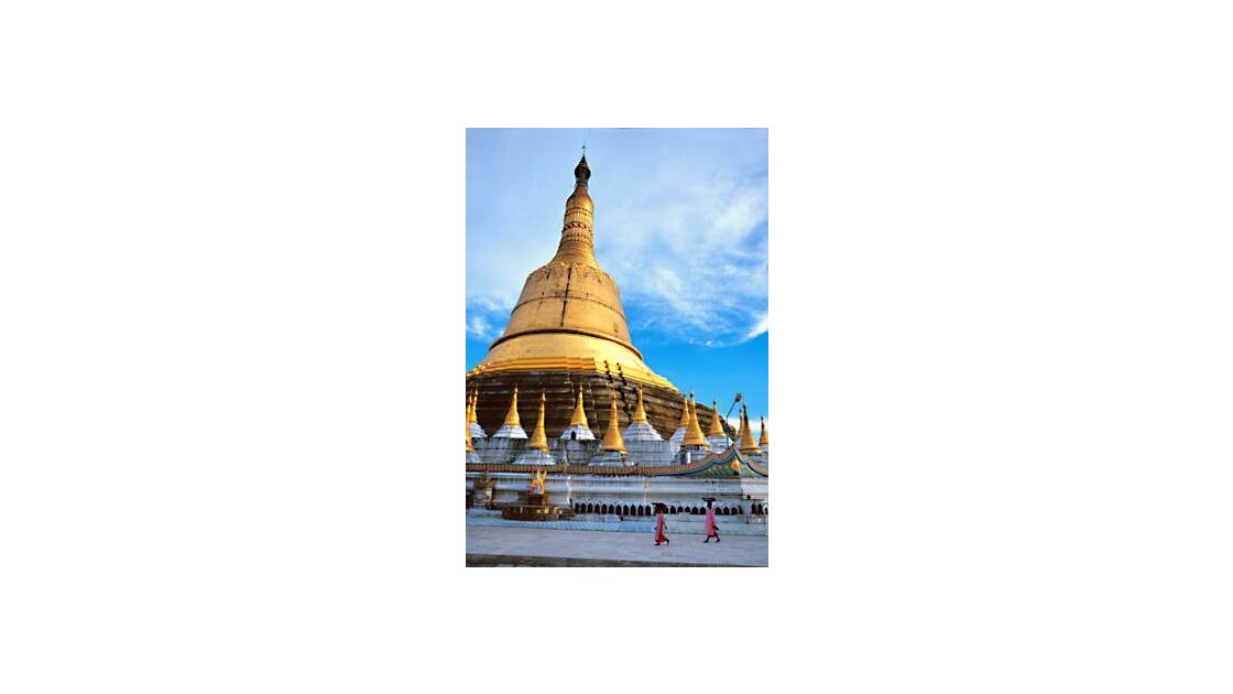 Birmanie - pagode Shwedagon, Rangoon