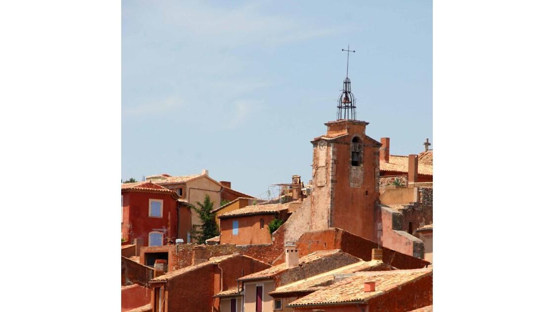 ILe clocher de Roussillon