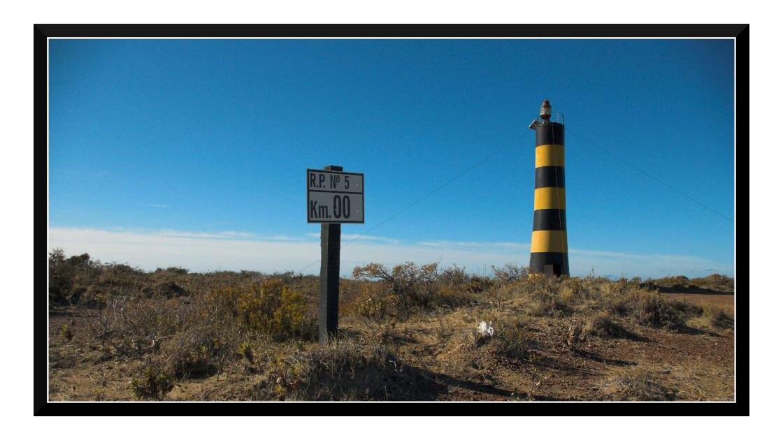 Punta Ninfas, Km 0