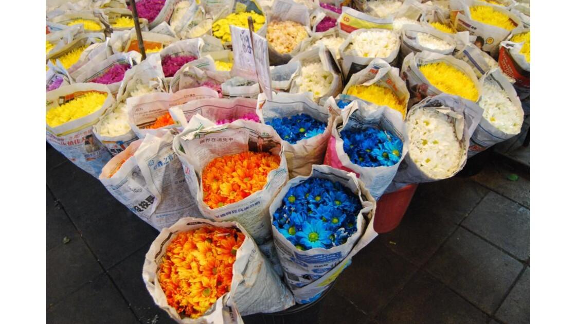 Marché aux fleurs, Bangkok
