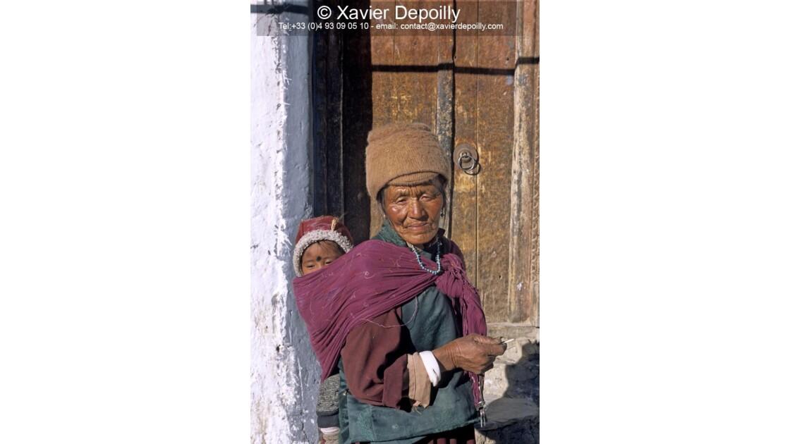 grande mère au Zanskar