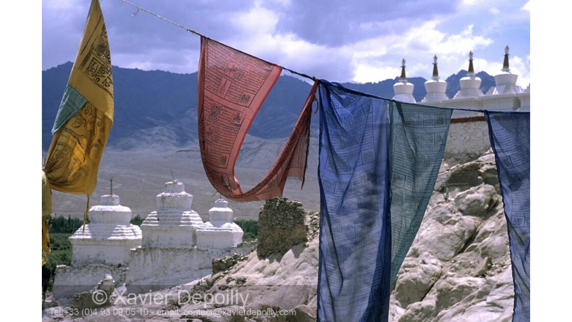 ladakh,monastère de Tiksey