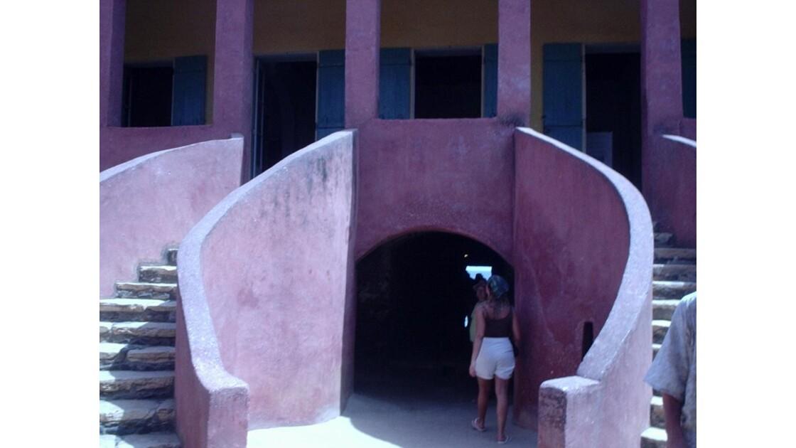 Goree maison des esclaves